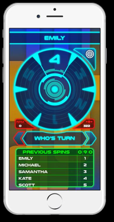 Spinner Select Screenshot
